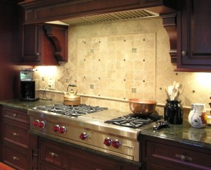 Stone Backsplash 3