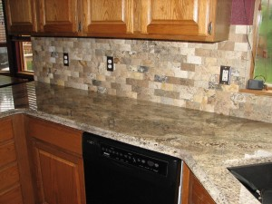 Stone Backsplash 5