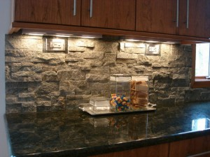 Stone Backsplash 7